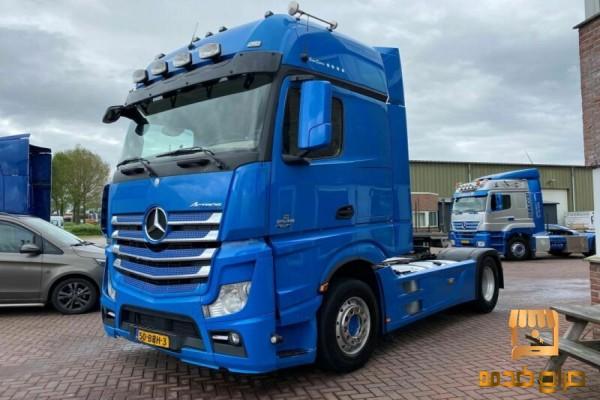 شاحنة مرسيدس اكتروس للبيع الفوري