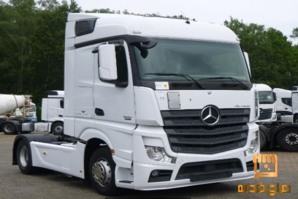 شاحنه مرسيدس اكتروس للبيع بسعر ممتاز