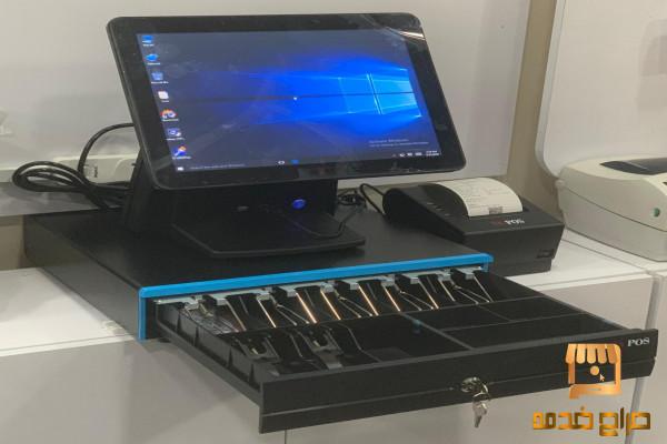 جهاز كاشير كامل نقطه بيع جهاز كمبيوتر